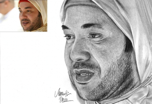 Mohammed VI of Morocco by maaroufi